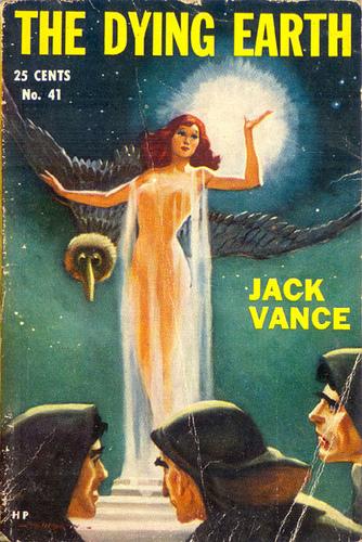 """D&D:n taikasysteemi pohjaa Jack Vancen kirjasarjaan The Dying Earth. Varsinkin sarjan neljäs osa Rhialto the Marvellous esittelee """"vancelaisen"""" taikuuden saloja."""