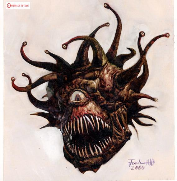 Theron Kuntzin keksimä Beholder on yksi D&D:n ikonisimmista hirviöistä, eikä vähiten Eye of the Beholder -tietokonepelisarjan vuoksi.