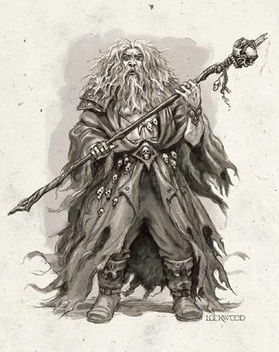 Undermountainin rakentaja, täyskahjo Halaster Blackcloak, on yli 1000 vuotias taikuri ja arkkimaagi.