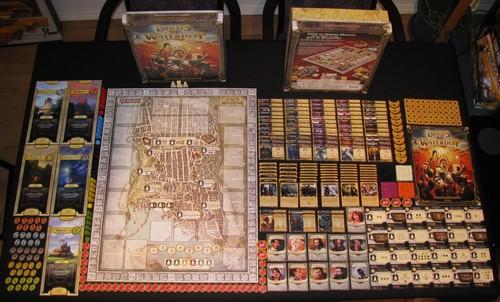 Lords of Waterdeepissä on aikamoinen määrä nappuloita ja muuta sälää, mutta itse peli on ihan viihdyttävä.