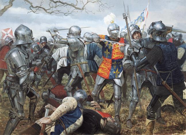 Taisto on veristä. Battle of Wakefield, Graham Turner.