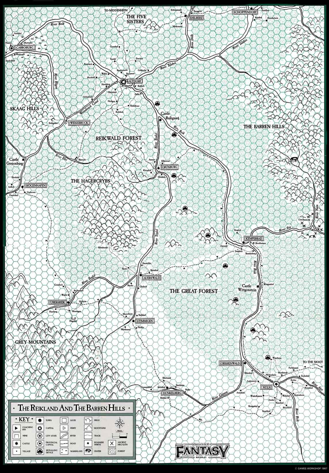 Rahaa voi tienata kuskaamalla tavaraa pitkin Reiklandin jokia ja kanavia.
