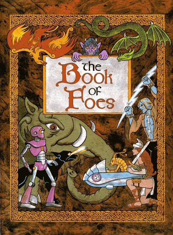Lords of Creation: Book of Foes. Taide: