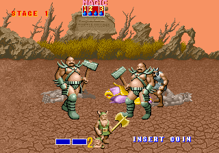 Loistelias Golden Axe. Kuva: The International Arcade Museum