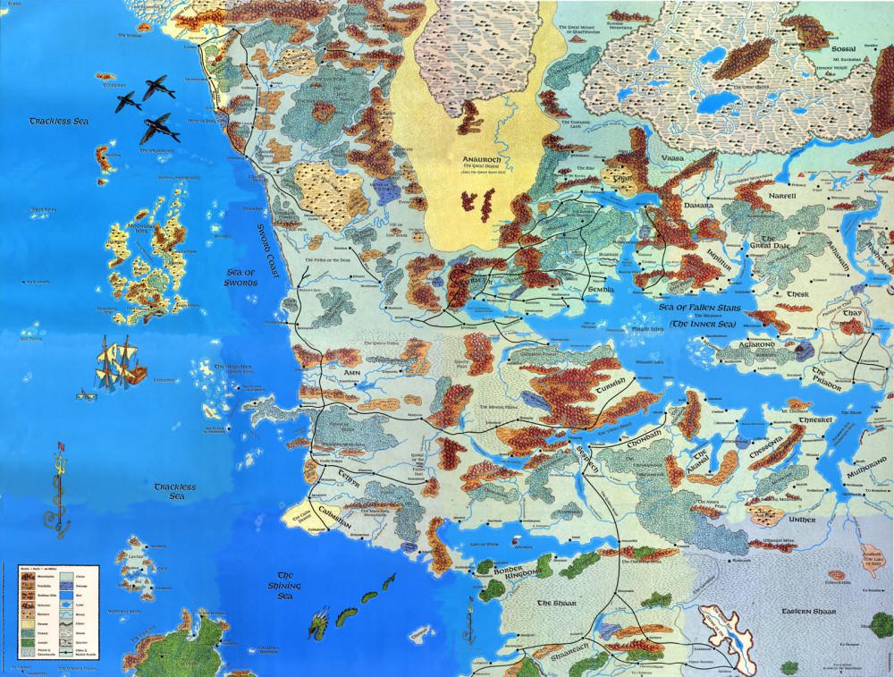 Onko tämä kartta sopivan kokoinen? Kuva: Nitro Dungeon