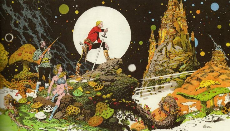 Al Williamson- Flash Gordon. Kuva: Pinterest / J. Birenza