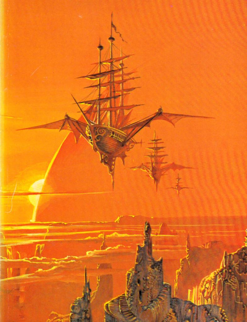 Bruce Pennington - Sky Pirates of Callisto, 1973. Kuva: