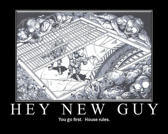 Talon sääntöjä on joka lähtöön. Kuva: Pinterest / Dungeons & Dragons.